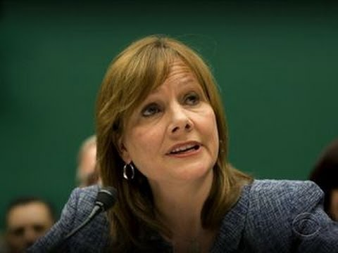 Barra blames old GM in congressional hearing on recall