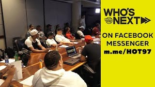 DJ ENUFF's Who's Next Music Meeting listening to  New Artists