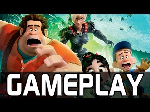 Wreck-It Ralph | 20 Minutes Gameplay (in ENG) [FULL HD / 3D]