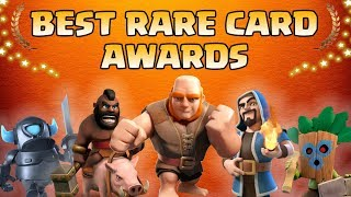 Clash Royale Rare Awards 2018 | Who