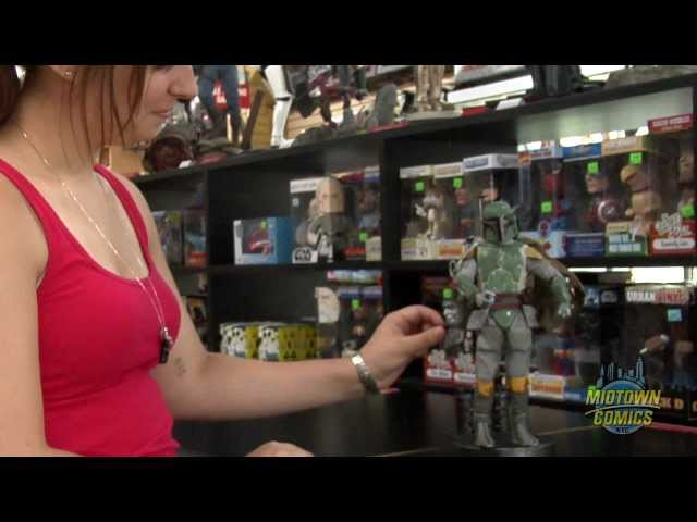 Star Wars Boba Fett Sideshow 12 Inch Action Figure Unboxing