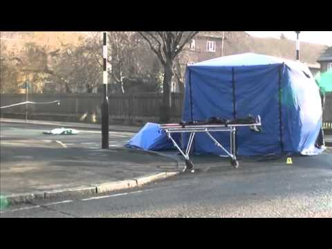Hackney Death 20th January 2015 BBC London News