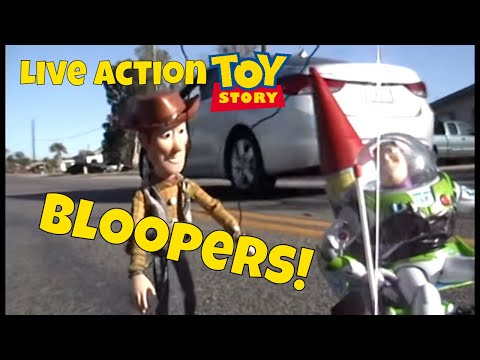 Live Action Toy Story Outtakes