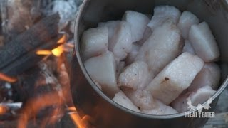 How to cook bear meat in bear fat with steven rinella meateater