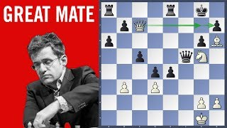 Great mate - Aronian vs Anand Blitz game | Grand Chess Tour 2018 Your Next Move - Leuven
