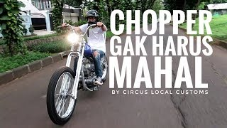 MOTOVLOG - Test Ride Kawasaki Binter Custom Chopper By @circuslocalcustoms