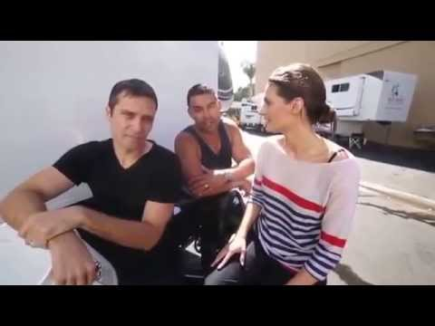 Stana Katic, Jon Huertas, Seamus Dever - Ice Bucket (ALS Challenge) Rus sub