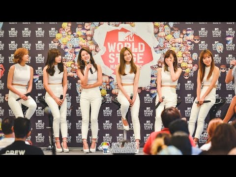 Interview with @Apink_2011 @ MTV World Stage Malaysia 2015 #worldstagemy