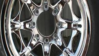 Jesse James mags rims Metal polishing