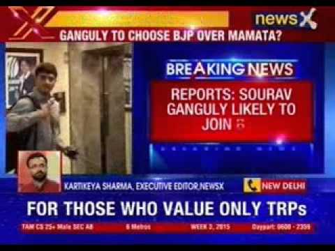 Sources: Sourav Ganguly likely to join BJP
