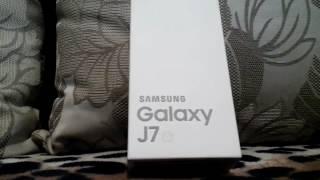 Мой новый телефон Samsung Galaxy J7 J710. Ура!!!