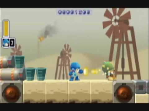 Mega Man Powered Up - Oil Man Perfect Run