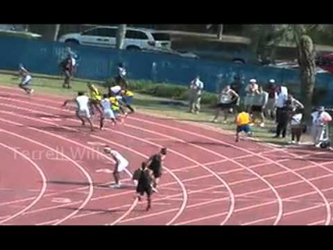University of Florida Track and Field - 2010 Florida Relays 4x100 and 4x200