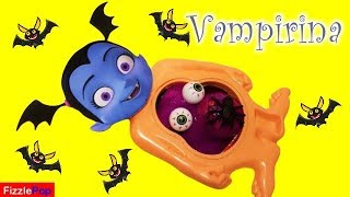 Squishy Surprises with Vampirina Mr Doh Slime Belly