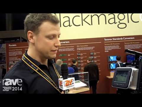 ISE 2014: Blackmagic Design Shows 4K Production Camera