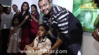 Bobby Simha Inaugurates Ganesh 365 Art Exhibition
