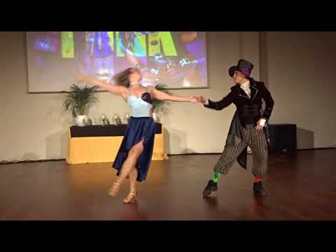 ZNL2018 Caroline & J  in performance ~ Zouk Soul