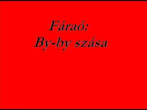 Fáraó - By By Szása