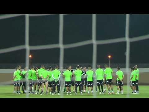Algeria - Training session (25/01) - Orange Africa Cup of Nations, EQUATORIAL GUINEA 2015