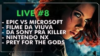 Nintendo NX, Filme Viúva, Da Sony pra Killer, Prey For The Gods e mais | Combo Infinito