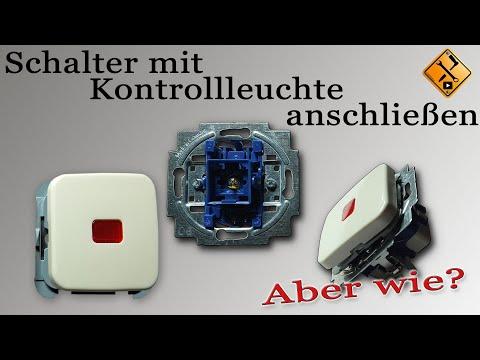 Schalter Mit Kontrollleuchte Anschließen (Wechselschalter Mit Kontrollleuchte) Von M1Molter