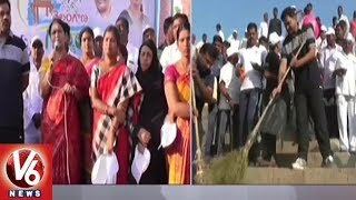 MLA DK Aruna Participates In Swachh Survekshan Program | Jogulamba Gadwal District