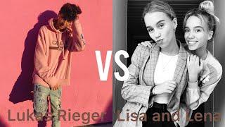 Lukas Rieger VS Lisa and Lena TikTok Battle Compilation 🔥