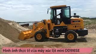 Máy xúc lật mini DD916SE gầu 0.6 khối giá rẻ phân phối trực tiếp bởi Bảo Khang