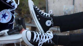 DIY Distressed Converse