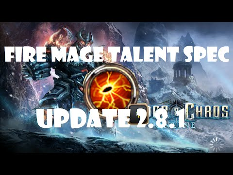 Fire Mage Talent Spec Profile: Order and Chaos Online 2.8.1