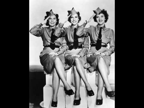 Andrew sisters with Danny Kaye - Civilization (the good version...
