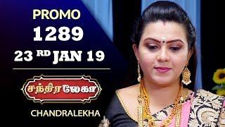 CHANDRALEKHA Serial | Episode 1289 | 23rd Jan 2019 | Shwetha | Dhanush | Saregama TVShows Tamil