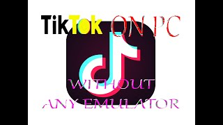 Watch TikTok Videos On PC Without Any Emulator.....By {MEGSAST.COM}