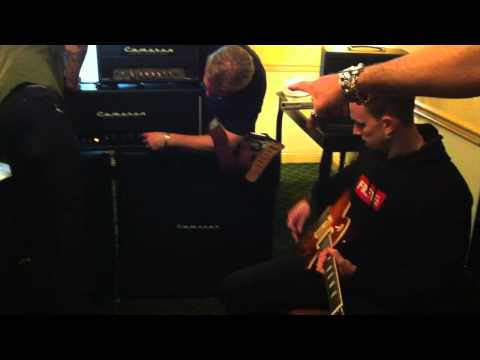 2012 AACGC Event- Mark Tremonti playing through Cameron Atomica amp