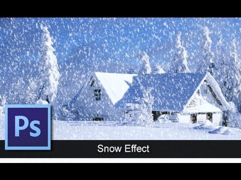 0 Adobe Photoshop CS6   [Snow Effect Tutorial] [ Let It Snow ]