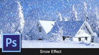Photoshop | Snow Effect | Tutorial