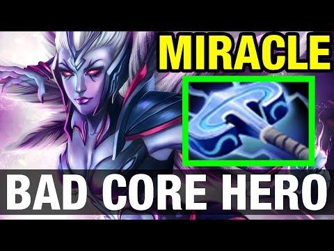 Venge Is A Bad Core Hero ? - Miracle- - Dota 2