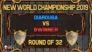 [AoE3] NWC! Diarouga vs Bwinner [Ro32] - The New World Championship Qualifiers 2019
