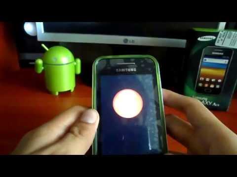 Rootear un Telefono Samsung Galaxy Ace y eliminar aplicaciones de fabrica