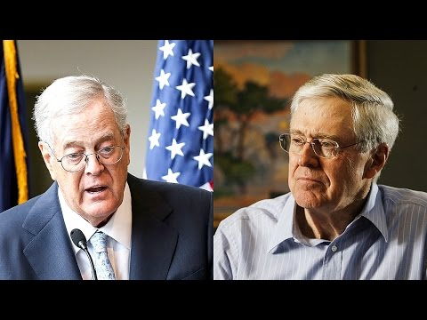 The Koch Brothers - GOP Civil War is Finally Here