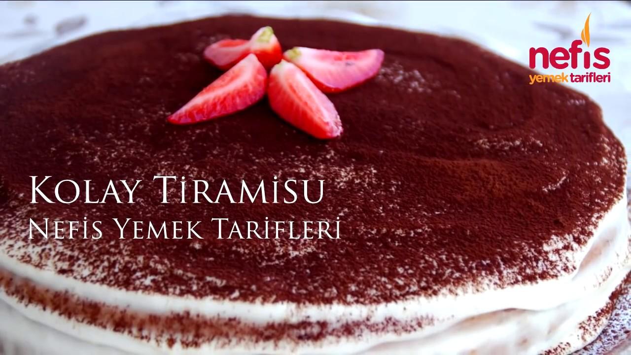 Kolay Tiramisu - Nefis Yemek Tarifleri - YouTube