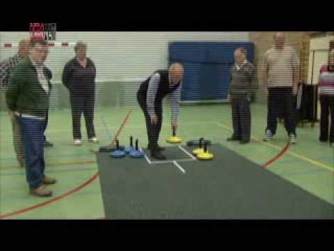 curling on carpet