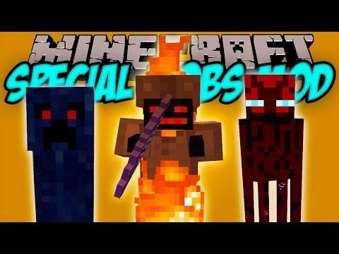 SPECIAL MOBS MOD - 69 Mobs Ocultos!!! - Minecraft mod 1.5.2. 1.6.4 y 1.7.10 Review ESPAÑOL