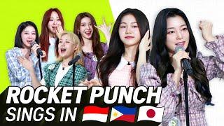 Download (JPN/ INA SUB) K-POP STARS sing in THREE Languages🎤 | INA/ TAG/ JPN | Rocket Punch | TRANSONGLATION Mp3/Mp4