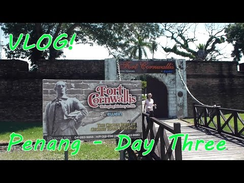Vlog! Our Short Trip to Penang, Malaysia - Day Three