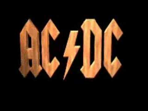 AC/DC - Cant Stand Still