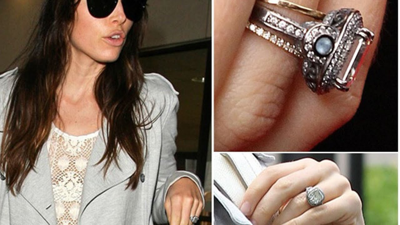 How To Get A Ring Like Jessica Biel S Diamond Rings
