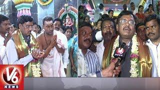 Govt Advisor Vikek Attends For Begumpet Ganesh Temple Restoration Event