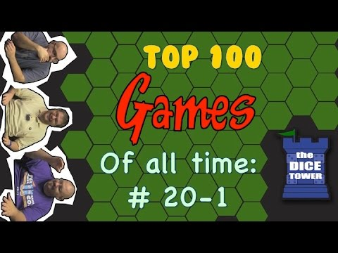 Best Games of all Time! - People's Choice 2014:  # 20 - # 1