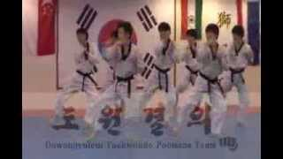 Taegeuk 8 Jang Practicing Video POOMSAE MASTER LEE